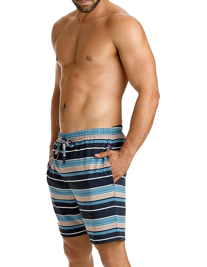 Classic Elvis Stripe Knit Sleep Short image 2