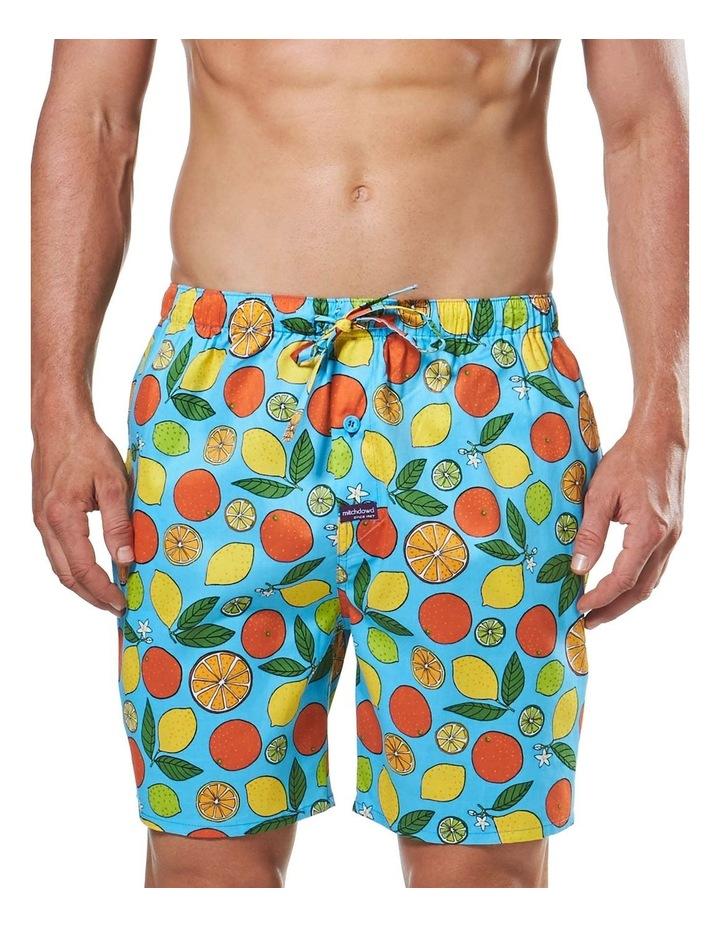 Oranges & Lemons Printed Sleep Short image 1