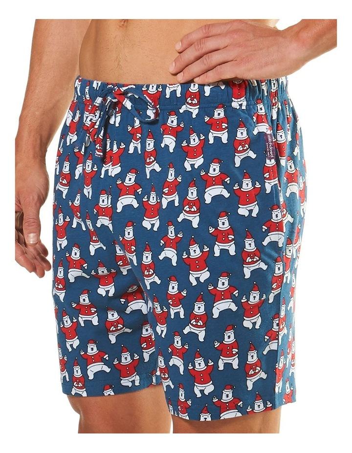 Dancing Bears Printed Knit Sleep Short image 2