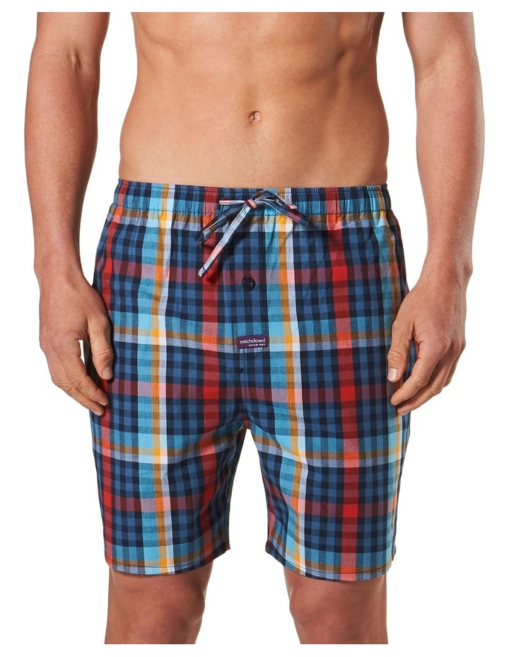 All Business Check Yarn Dyed Sleep Short image 1