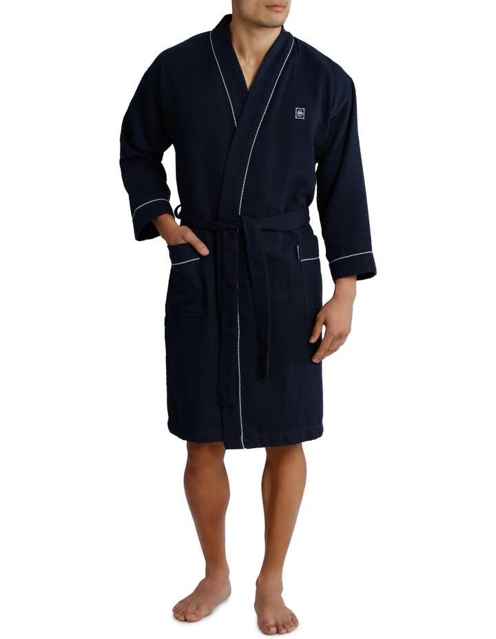 Waffle Weave Dressing Gown image 1