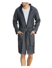 Weekender knit hoodie robe