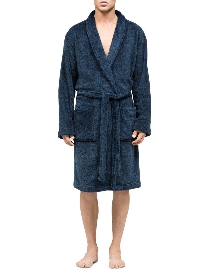 Plush Shawl Collar Robe image 1