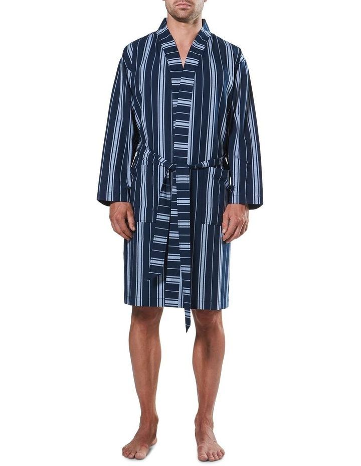 Maine Stripe Woven Yarn Dyed Robe image 1