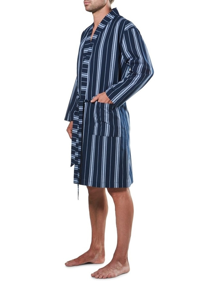 Maine Stripe Woven Yarn Dyed Robe image 2