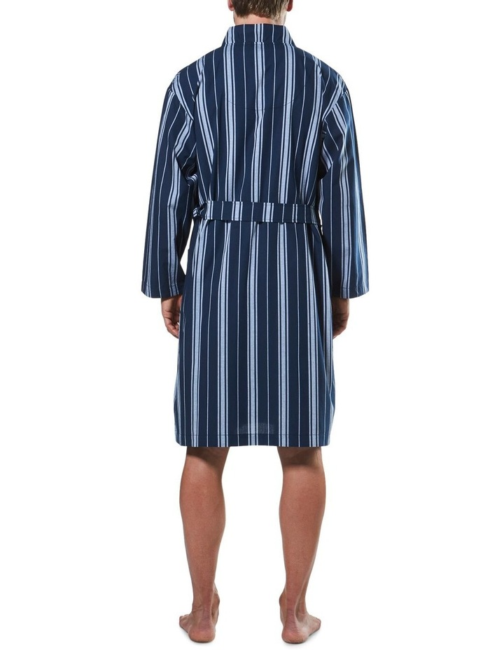 Maine Stripe Woven Yarn Dyed Robe image 3