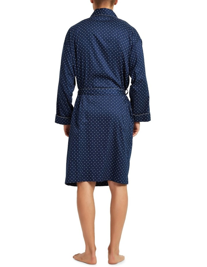 Cotton Sateen Dressing Gown image 2