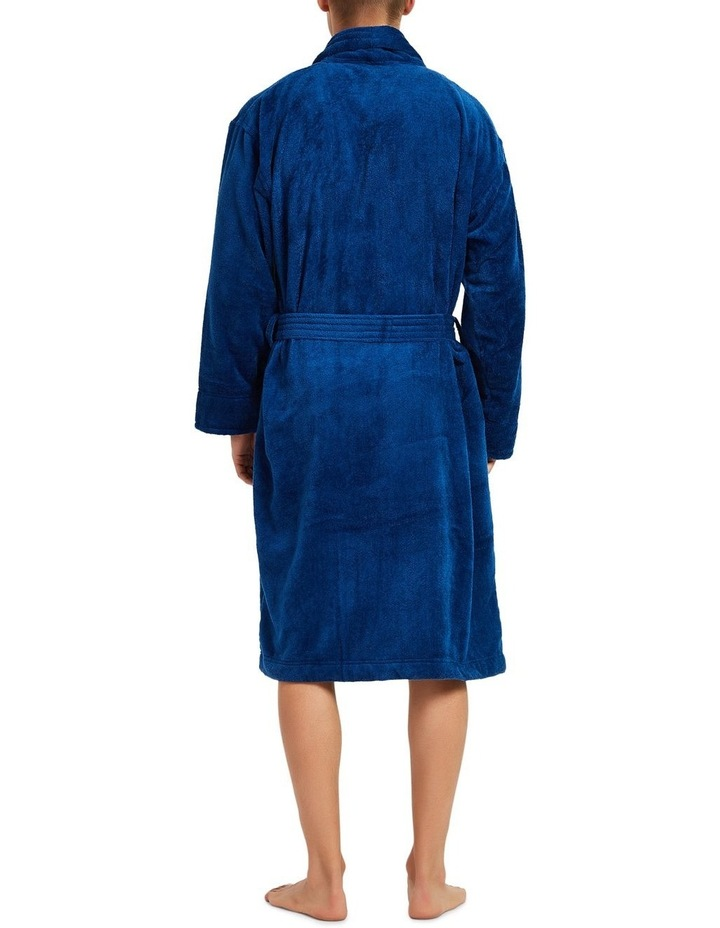 Microfibre Cotton Terry Dressing Gown image 2