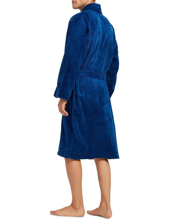 Microfibre Cotton Terry Dressing Gown image 3