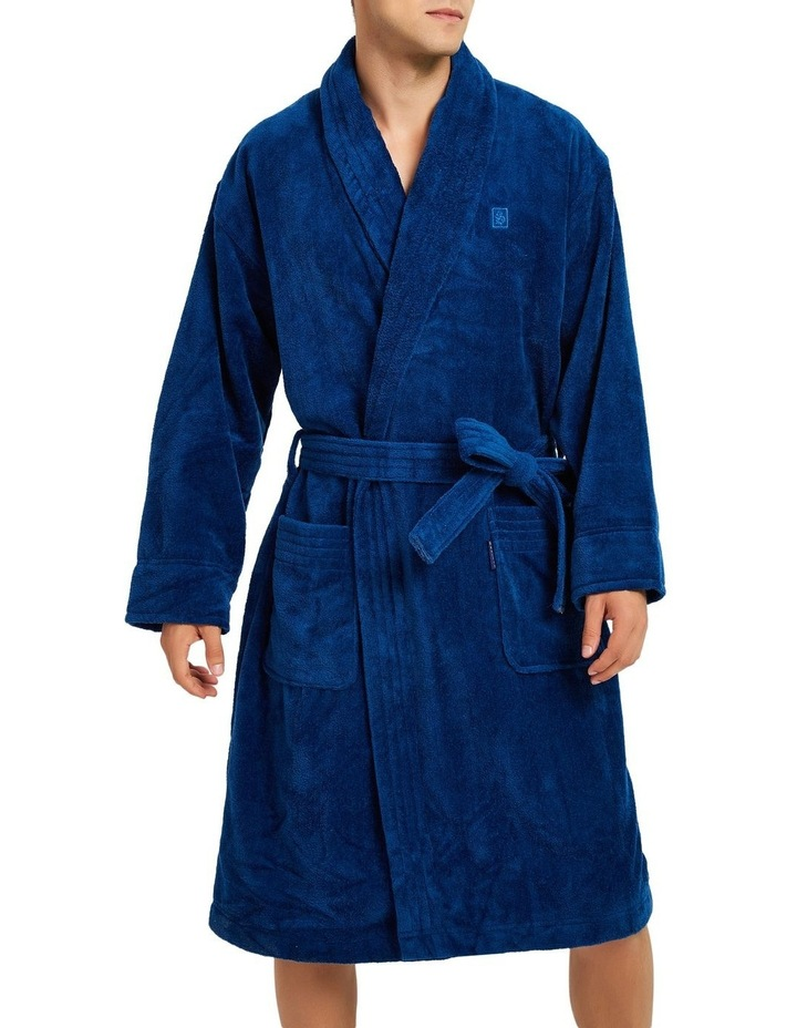 Microfibre Cotton Terry Dressing Gown image 4
