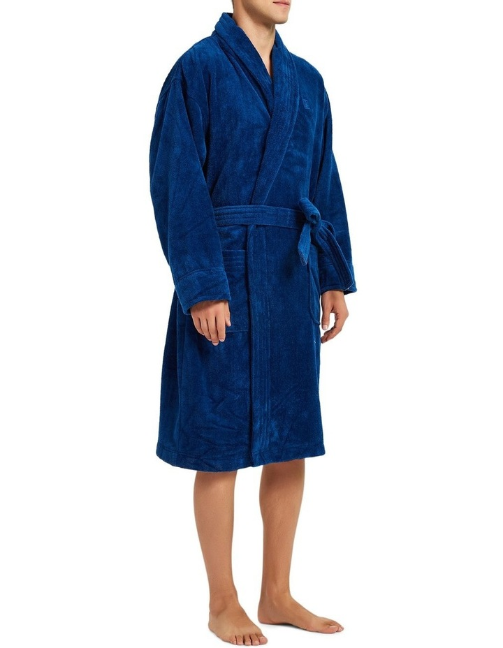 Microfibre Cotton Terry Dressing Gown image 5