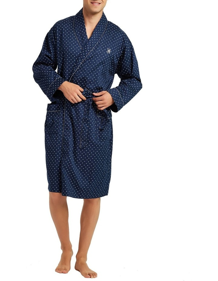 Cotton Sateen Dressing Gown image 1
