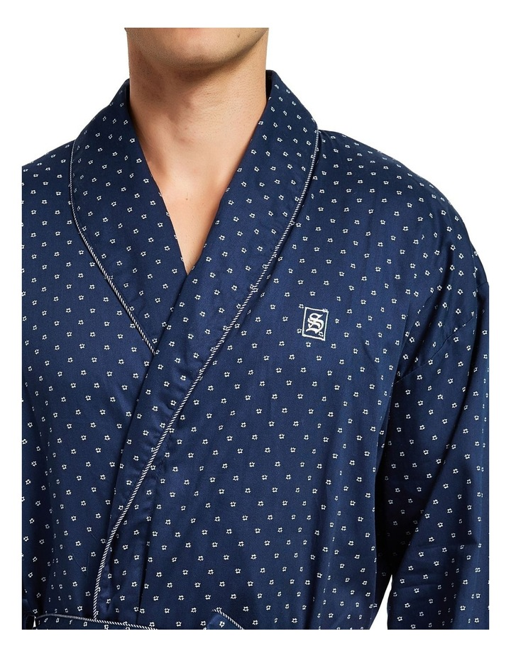 Cotton Sateen Dressing Gown image 4