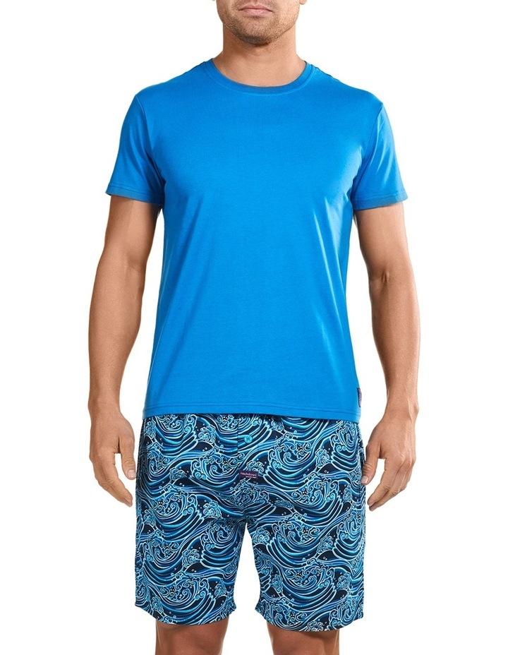 Sunami Wave Short Sleeve Sleep Set image 1