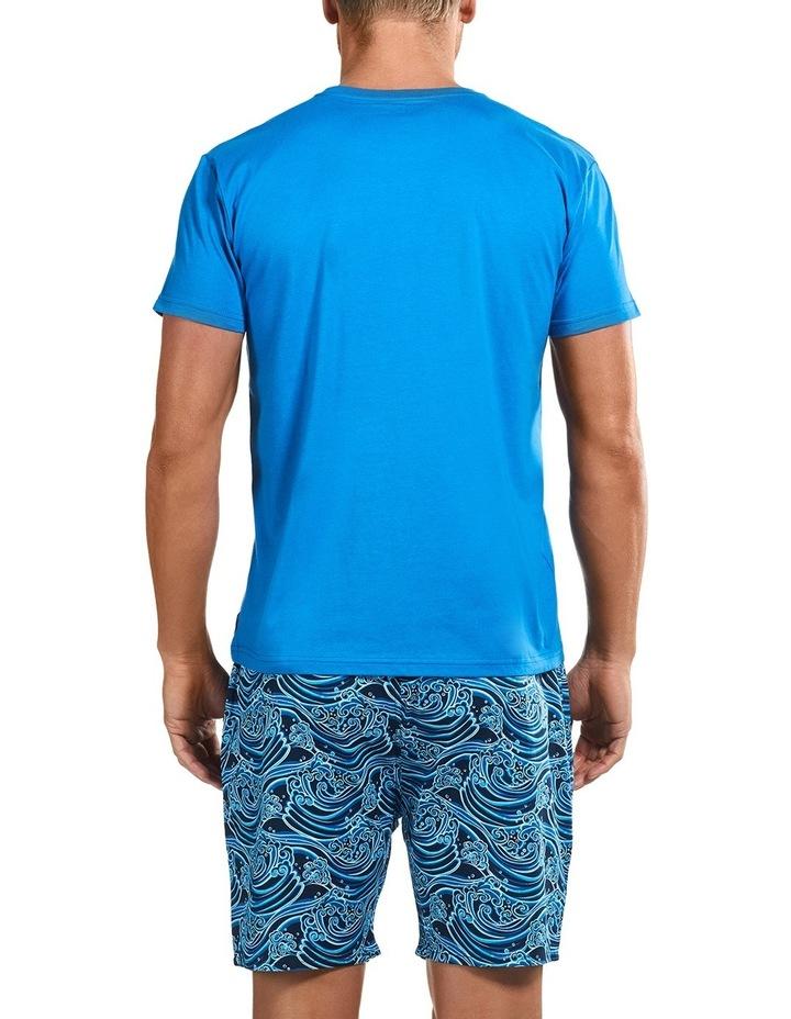 Sunami Wave Short Sleeve Sleep Set image 3