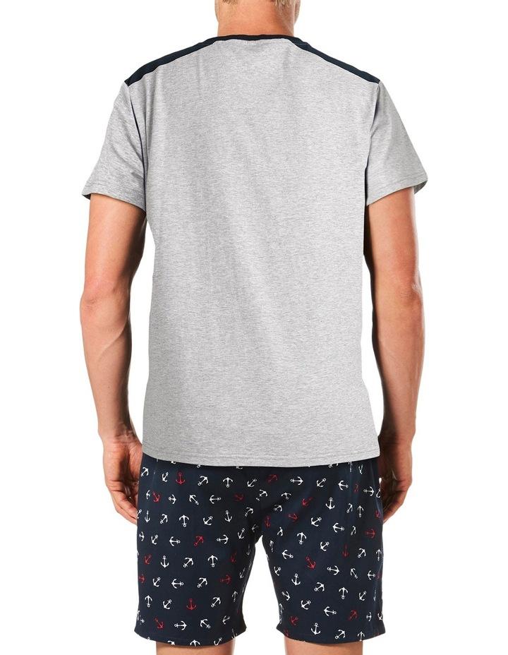 Anchor Short Sleeve Tee & Short Pyjama Set Gift Box image 3