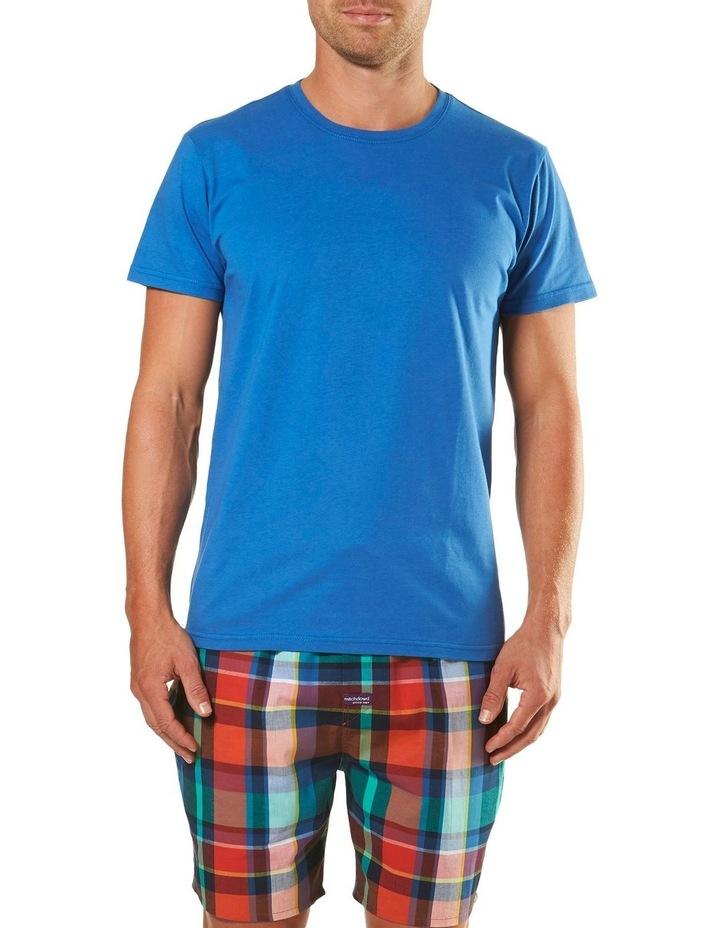 Plato Check Short Sleeve Pyjama Set image 1