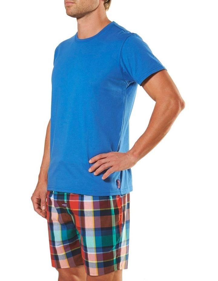 Plato Check Short Sleeve Pyjama Set image 2