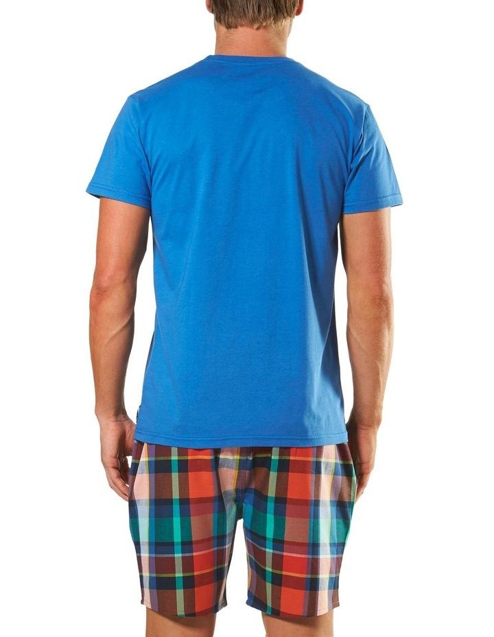 Plato Check Short Sleeve Pyjama Set image 3