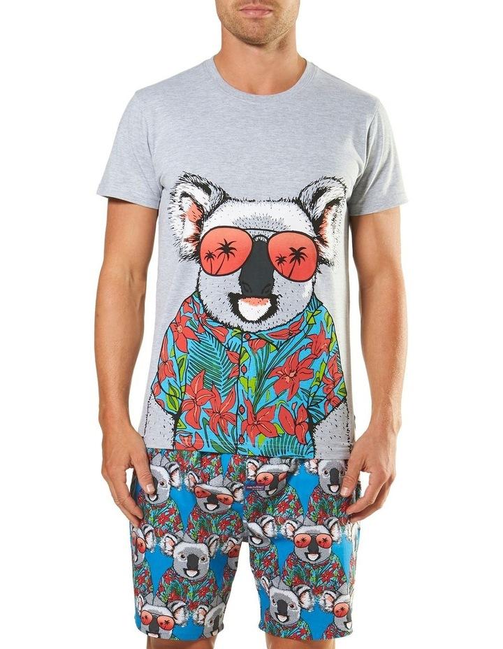 Holiday Koala Short Sleeve Pyjama Set image 1