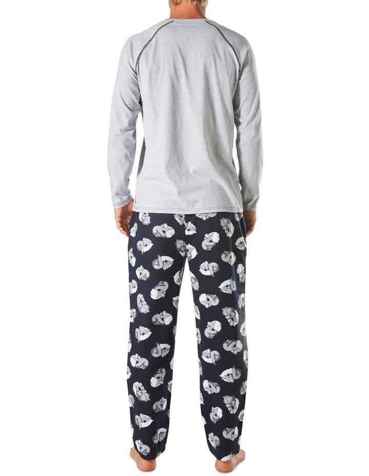 Flat Out Koala Long Sleeve Flannel Sleep Set image 3