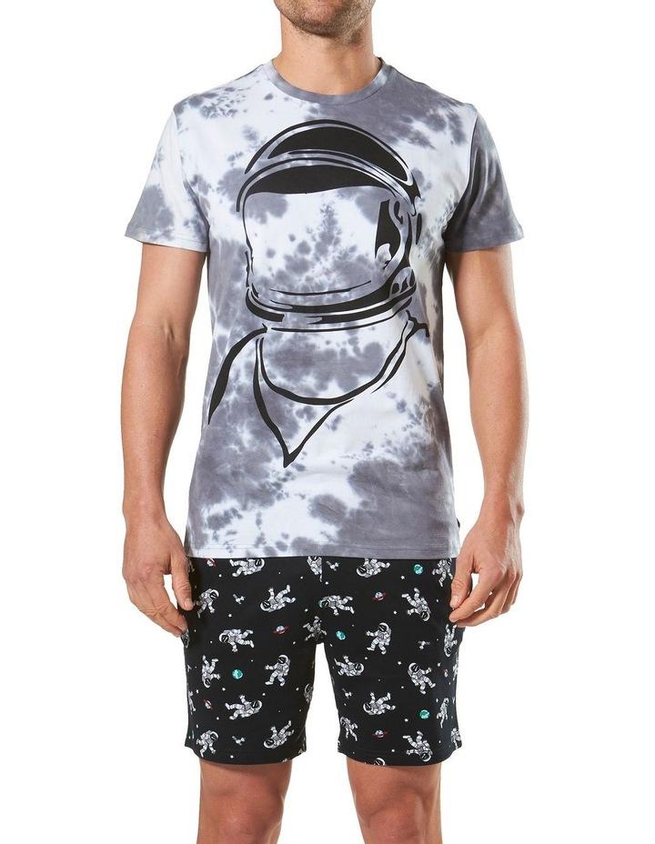 Spaceman Knit Short Pyjama Set image 1