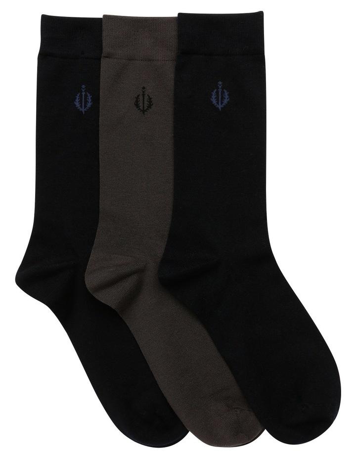 Plain Luxe Business Socks image 1