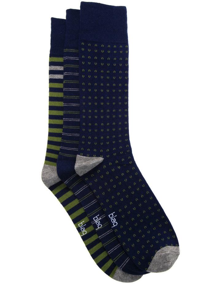 Mixed Socks 3PK image 2