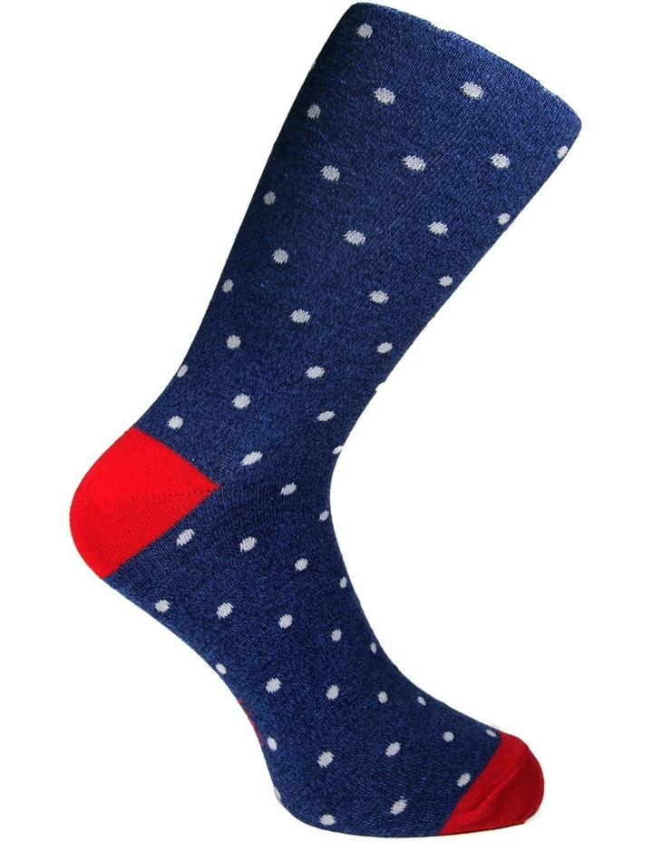 Cotton Pop Spot Business Sock image 6
