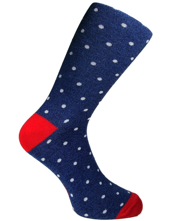 Cotton Pop Spot Business Sock image 5