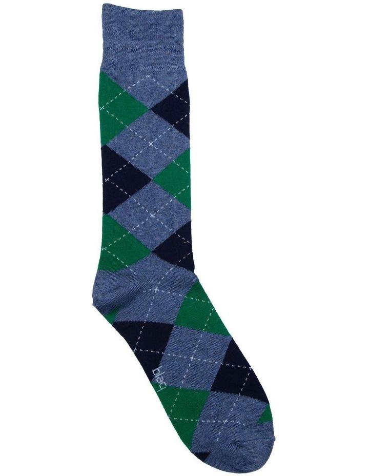 Argyle Crew Sock image 2