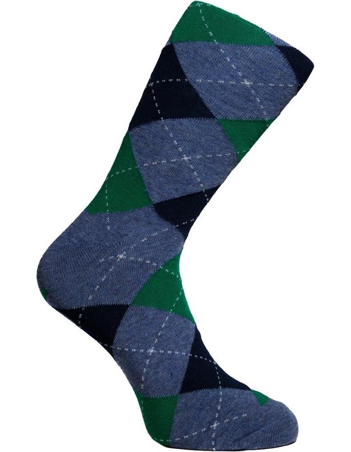 Argyle Crew Sock image 4