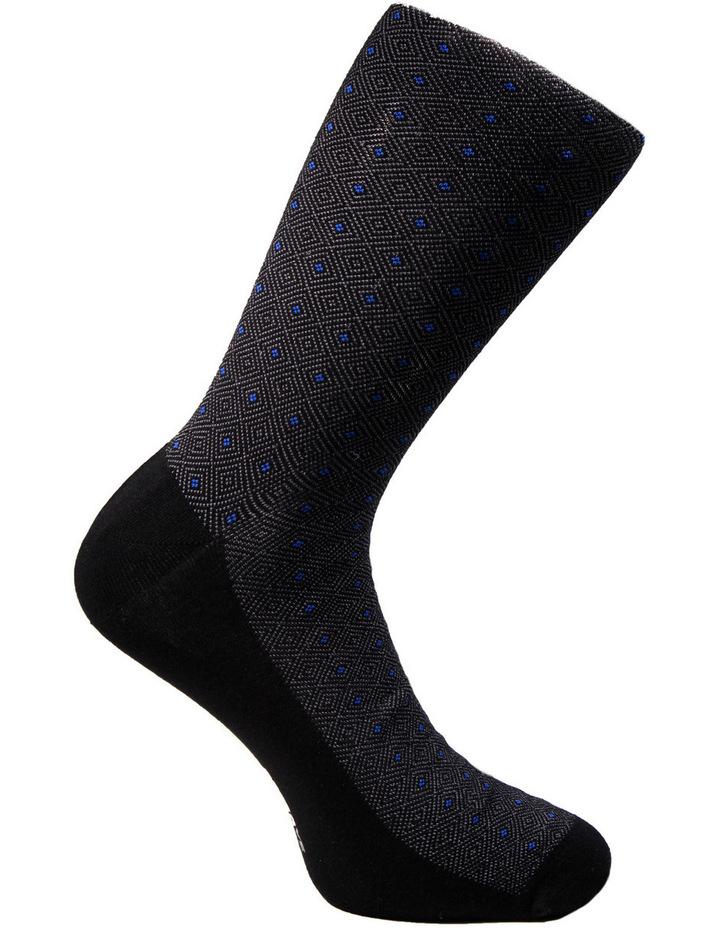 Luxe Diamond Business Socks 3PK image 3