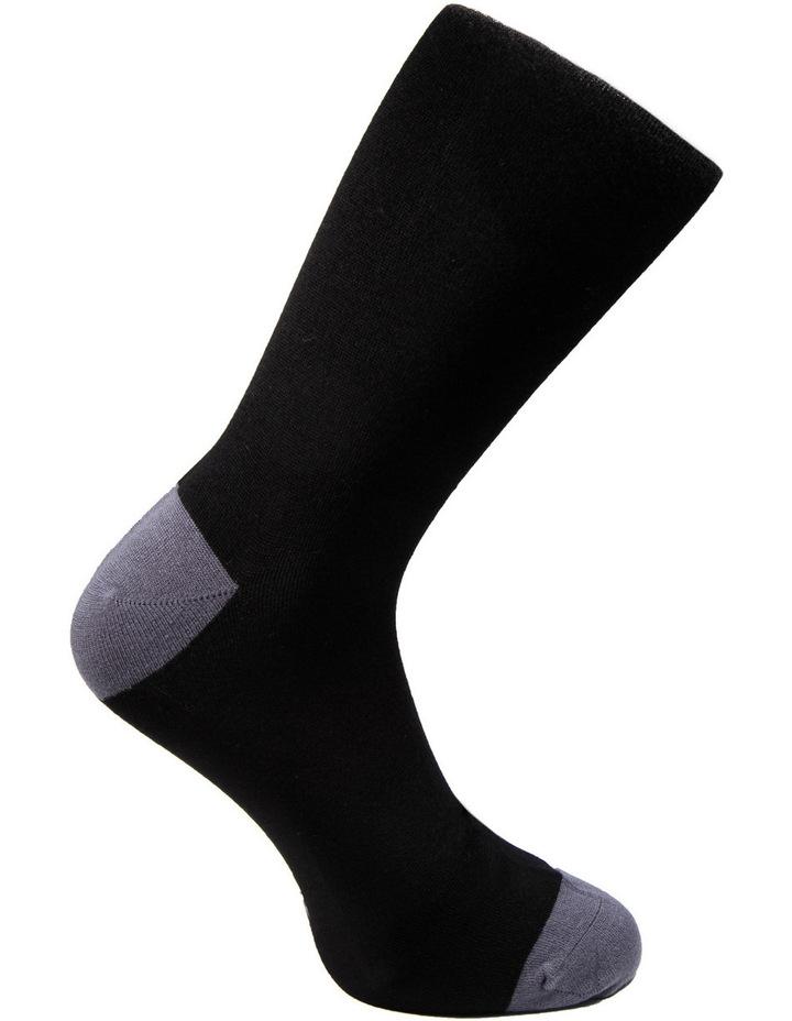 Luxe Diamond Business Socks 3PK image 4