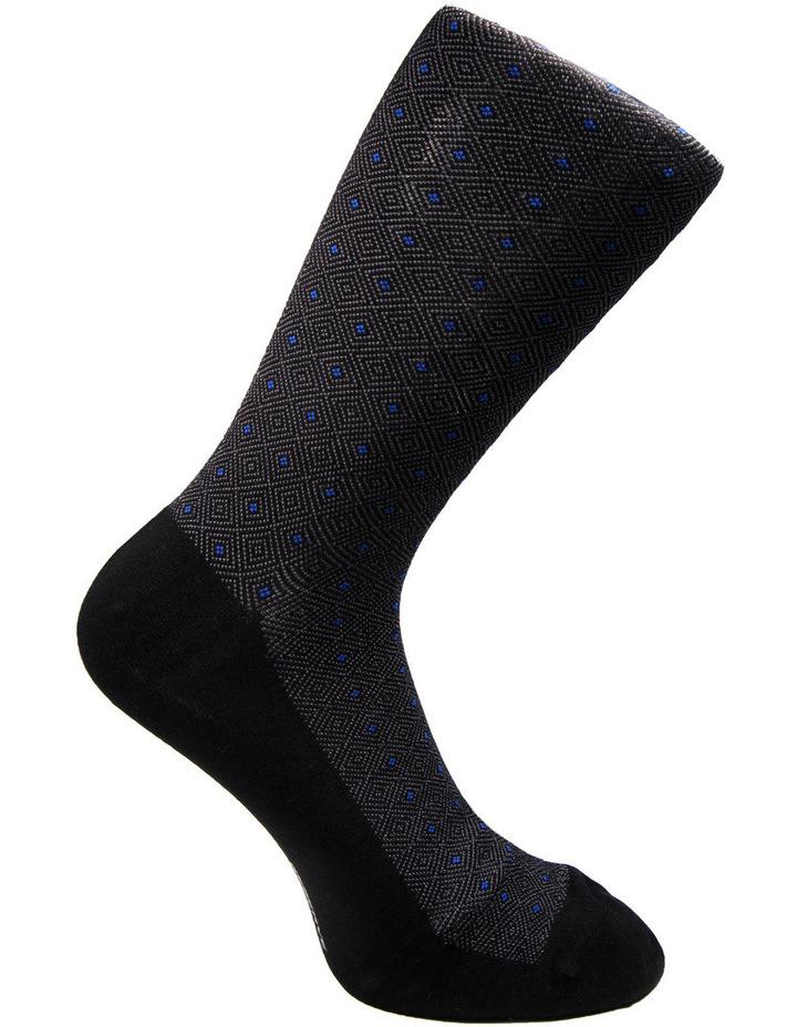 Luxe Diamond Business Socks 3PK image 5