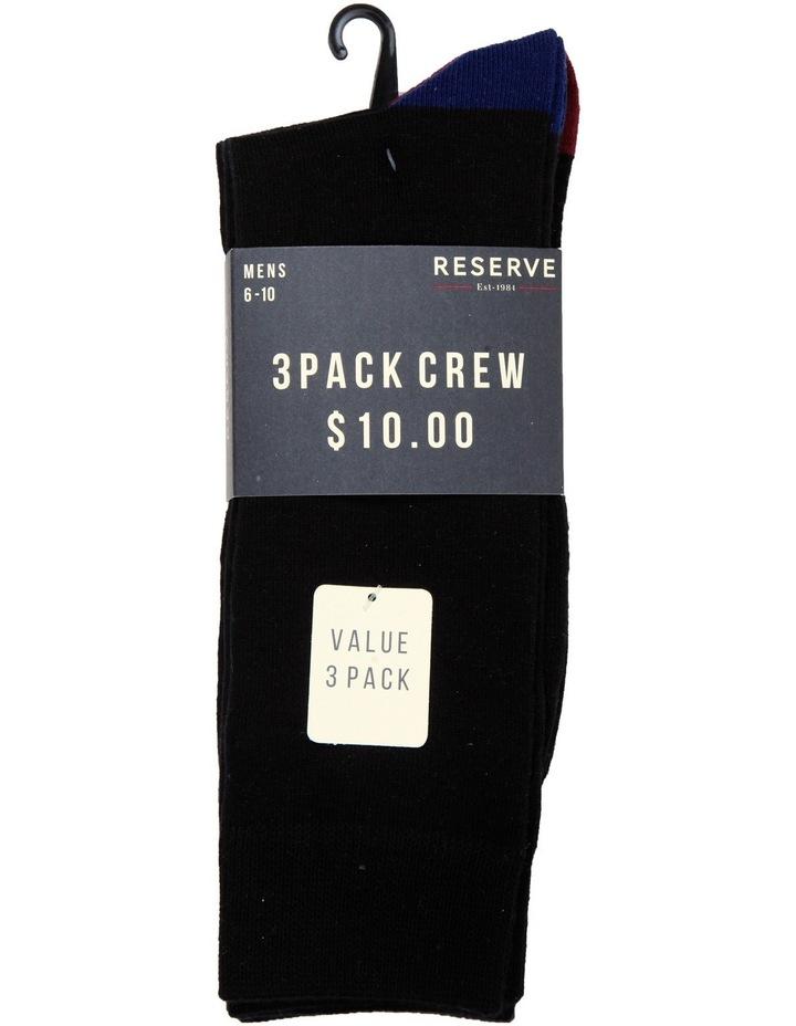 Heel Toe 3 Pack Business Socks image 2