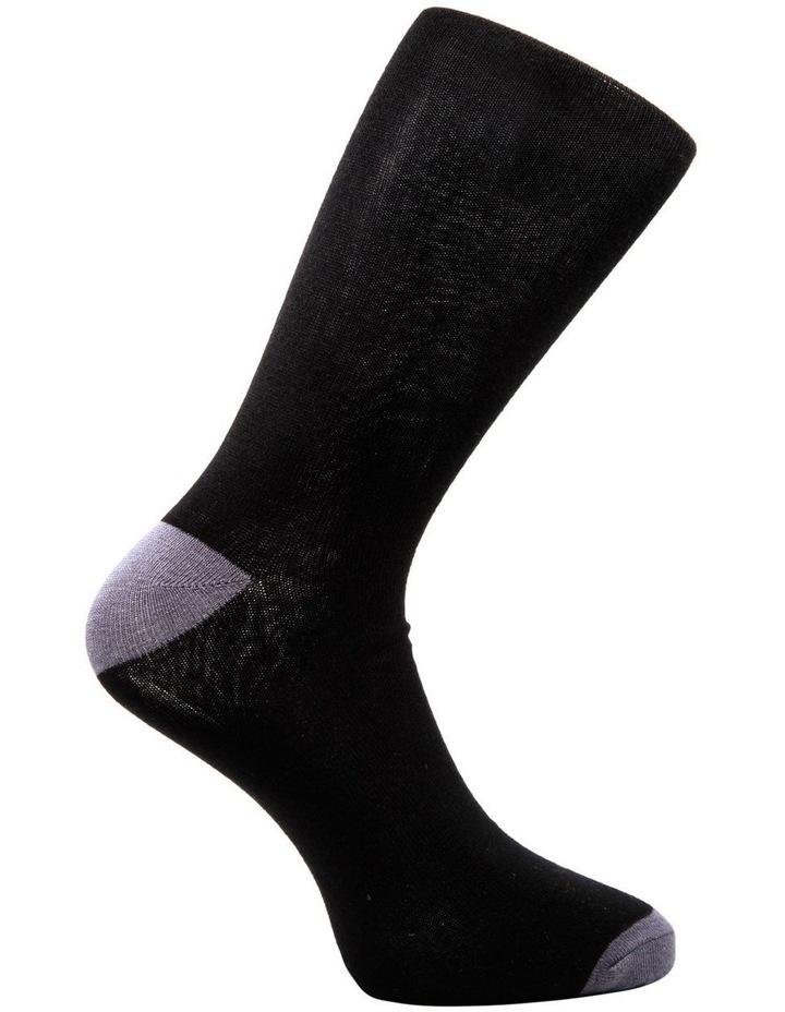 Heel Toe 3 Pack Business Socks image 9