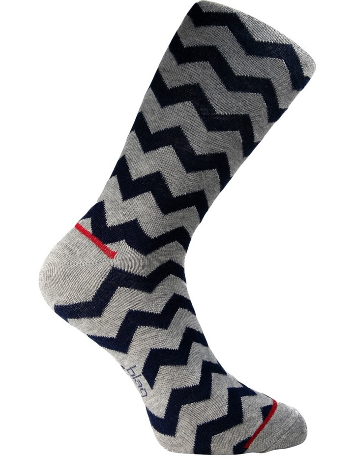 Fun Zig Zag Sock Gift Box 3 Pack image 6