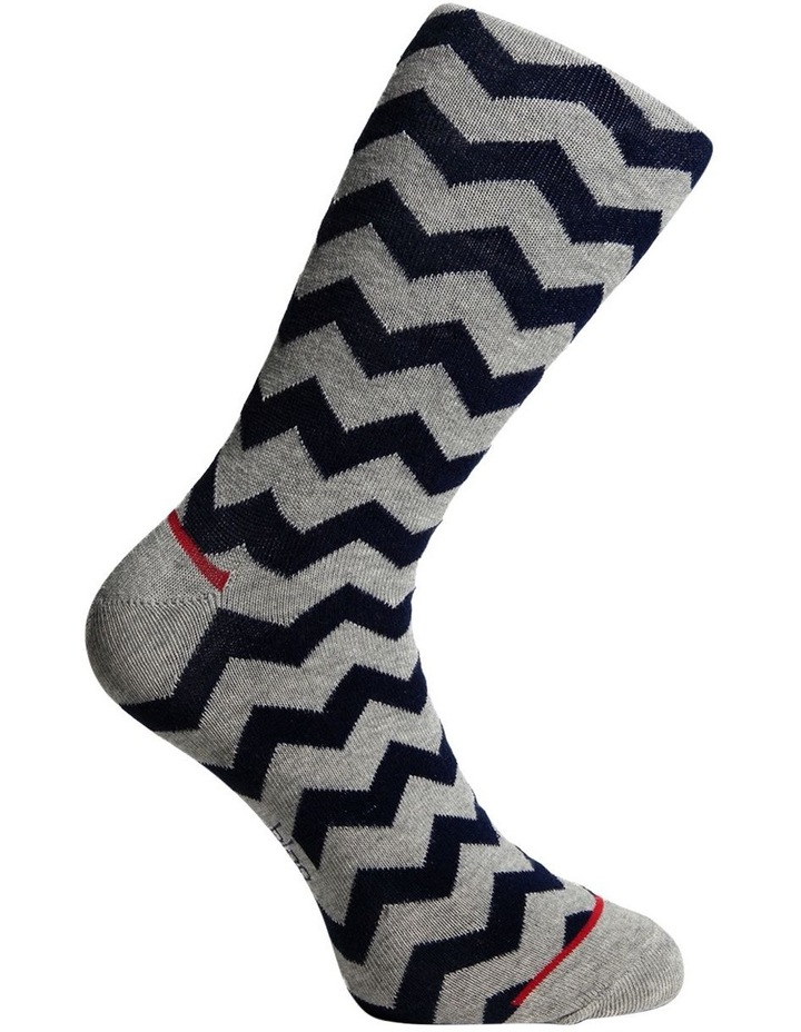 Fun Zig Zag Sock Gift Box 3 Pack image 5