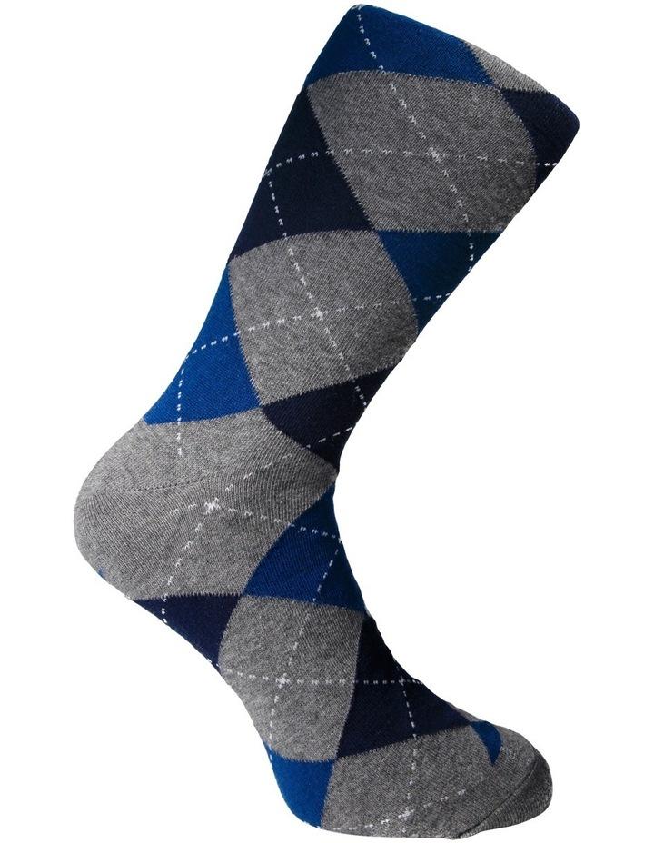 Argyle Crew Sock image 3