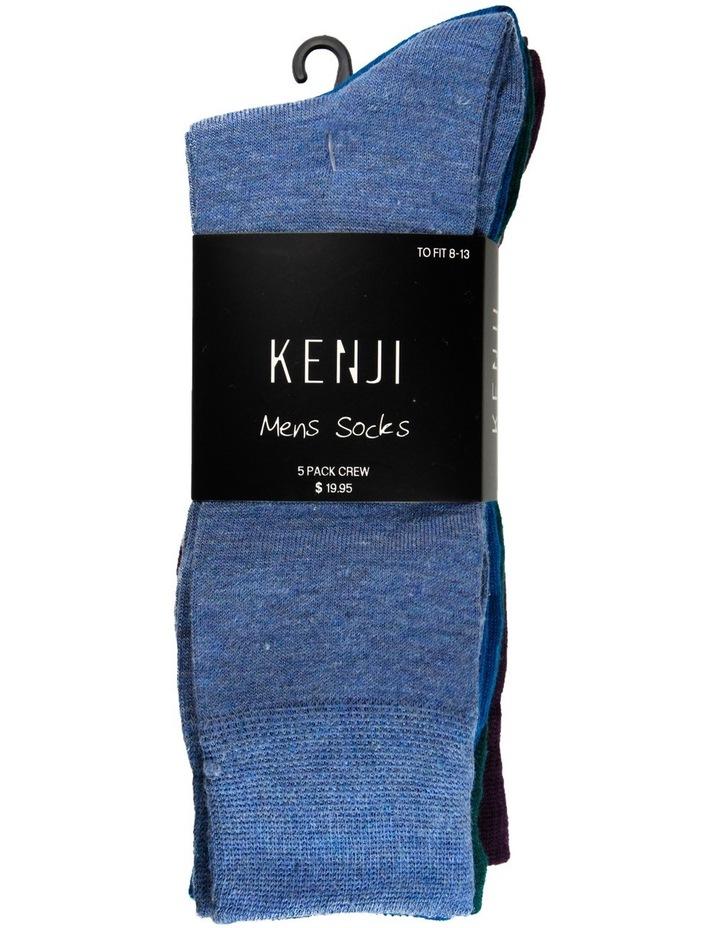 Coloured Socks 5 Pack image 2