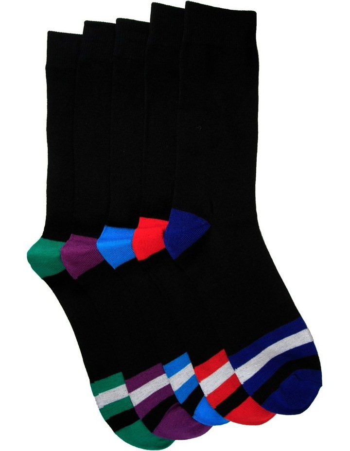 Week Crew Sock 5 Pack image 1