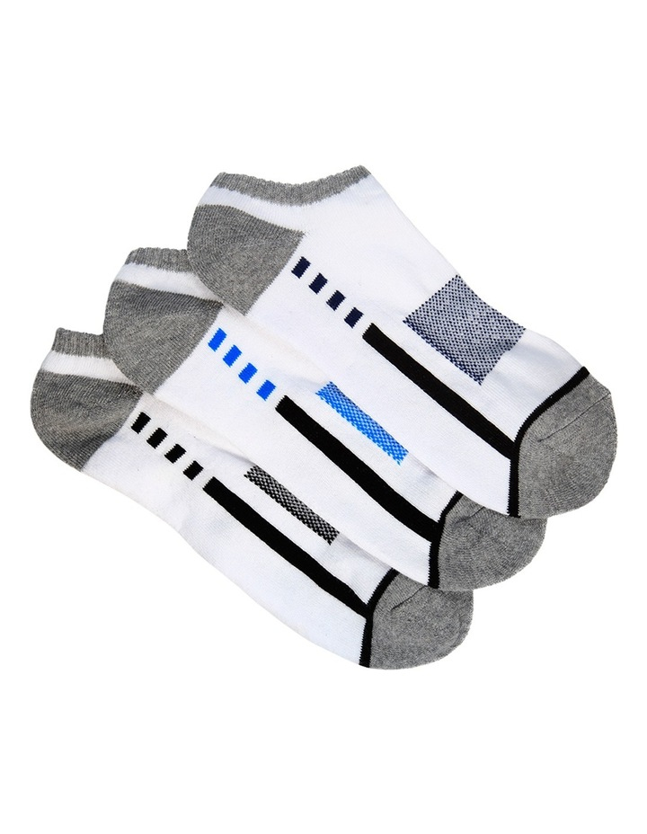 Keyline 3 Pack Sport Invisible Sock image 1