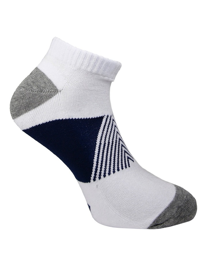 Block 3 Pack Sport Low Cut Sock image 3