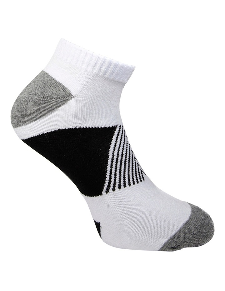 Block 3 Pack Sport Low Cut Sock image 5