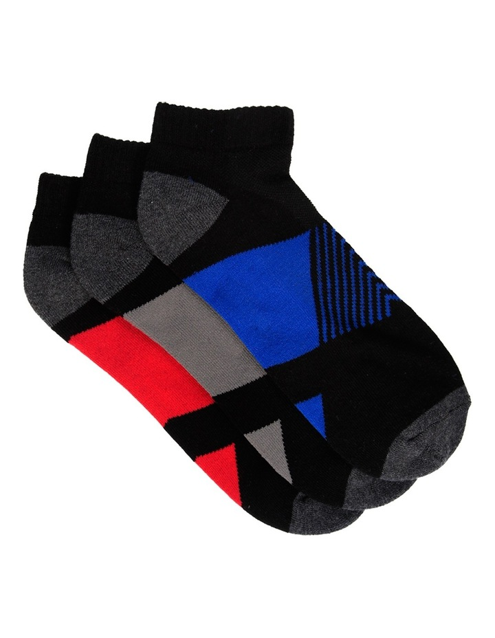 Block Sport Low Cut 3 Pack Sport Sock image 1