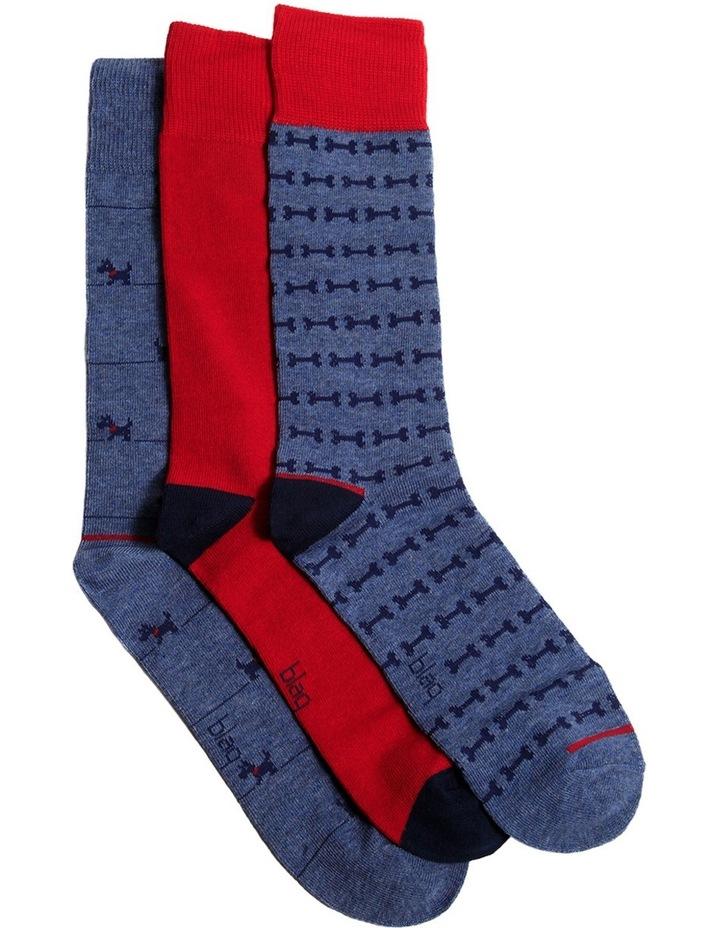 Scottie Dog 3 Pack Socks Gift Box image 1