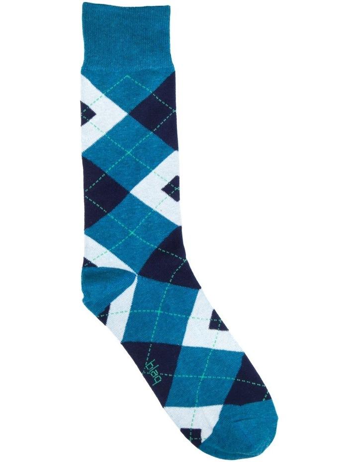 Bright Argyle Business Sock image 1