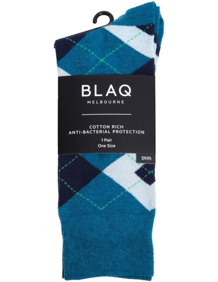 Bright Argyle Business Sock image 2