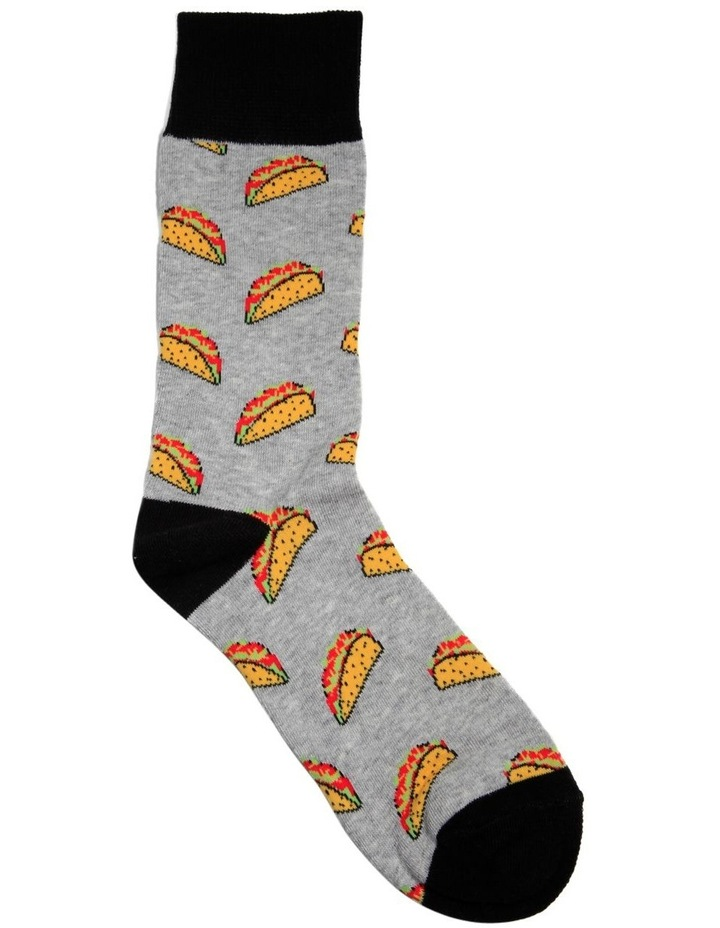 Taco Time Casual Sock image 1